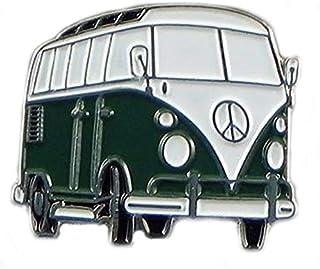 Mainly Metal ™ - Spilla smaltata per camper, colore: Verde scuro (campervan) Continent Tourer (25 mm)