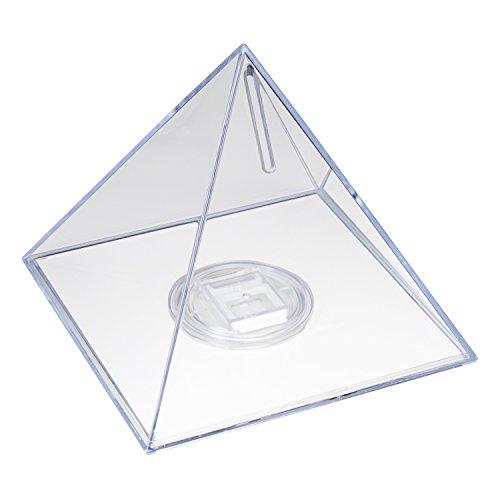 HMF 47600 Alcancía, Pirámide, Caja para colecta, Caja de caudales 13 x 12 cm