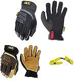 Mechanix Wear FastFit + Durahide FastFit + Yellow Glove Clip XX-Large combo