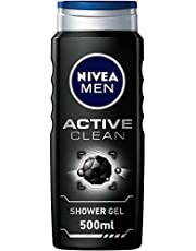 جل استحمام اكتيف كلين للرجال من نيفيا للرجال - 500 مل