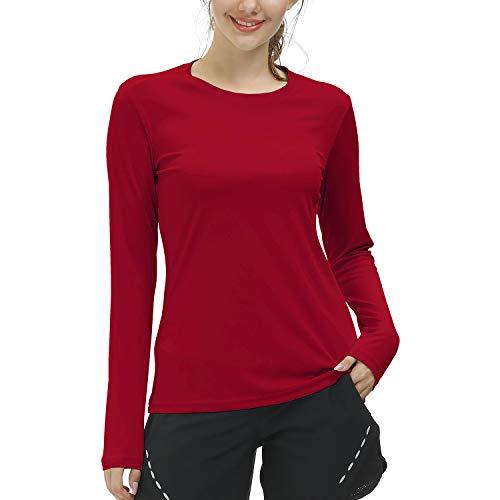 Lista de Camisetas de manga larga para Mujer , tabla con los diez mejores. 12