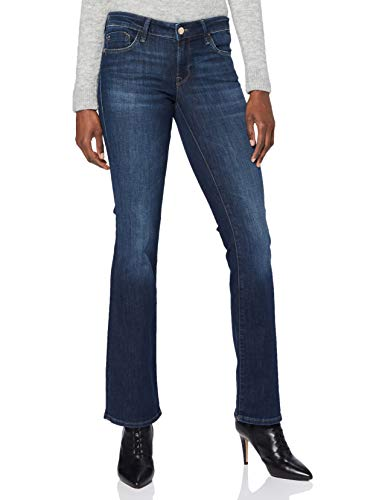 Mavi Damen Bella Jeans, Dark Indigo STR, 30w / 32l