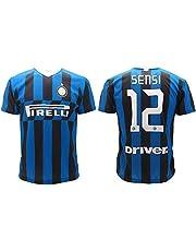 L.C. Sport Srl Trikot Sensi Inter 2020 Home officiell säsong 2019 2020 replik Autogrammerad Stefano 12