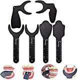 WANJIA Contraste Dental, Tablero de Fondo Negro Dental fotográfico intraoral Kit de Contraste de Foto Dental Utilizado para fotografía de ortodoncia
