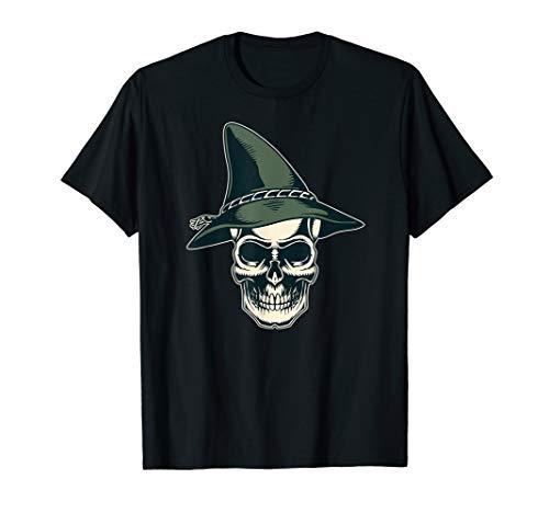 Bayrischer Hut Totenkopf Halloween Bayern Geschenk T-Shirt