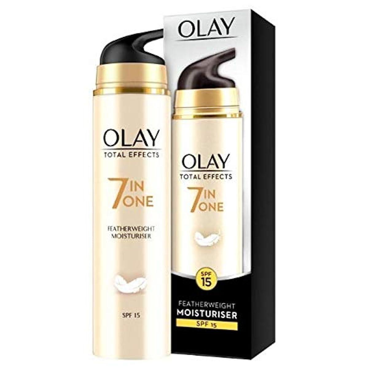 熟すマウス今[Olay ] オーレイトータルエフェクトフェザー級デイクリーム50Ml - Olay Total Effects Featherweight Day Cream 50ml [並行輸入品]