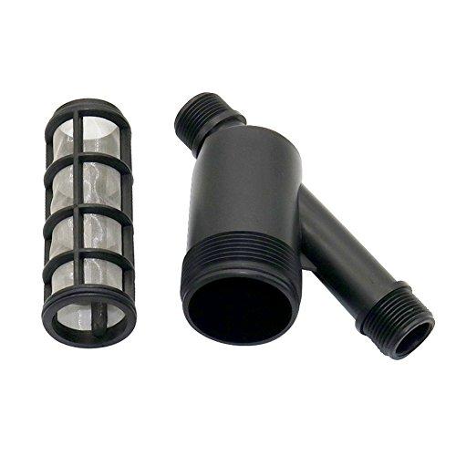 Adhere To Fly Filtre d'irrigation en acier inoxydable 100-120 avec écran de 1\