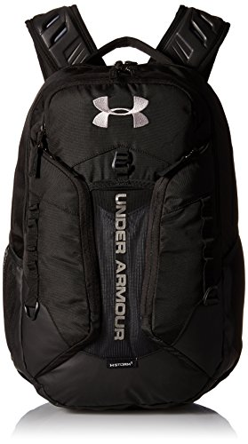 Under Armour UA Contender Backpack, Zaino Unisex Adulto, Nero (Black/Steel/Steel), Taglia Unica