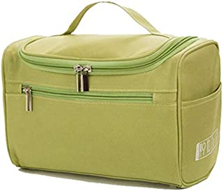 SODIAL Green Women'S Men'S Large Waterproof Cosmetic Bag Travel Cosmetic Bags Organizational Requirement Cosmetics Toilet Bag