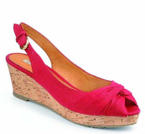 Buffalo Girl 311-2989 126107, Damen Sandalen/Fashion-Sandalen, Rot (RED), EU 40