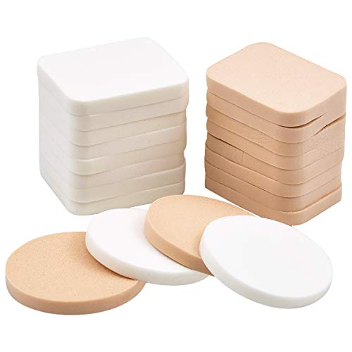 Fodlon Esponjas para Maquillaje, Conjunto de 20 Paquetes Esponja de Pintura Facial...