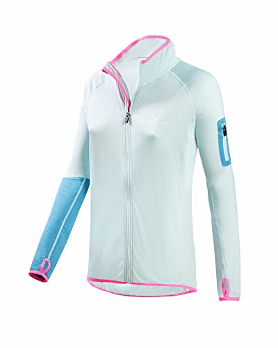 Black Crevice Veste polaire stretch Ice Aqua pour femme 44 Ice Aqua.