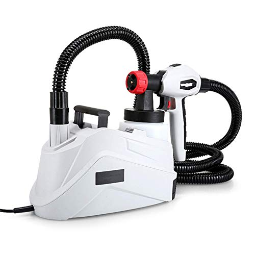 BBGSFDC Airless Paint Sprayer, Electri Paint Sprayer for Fences Sheds Decking Or Garden Furniture 800Ml Capacity 1280W 90Din