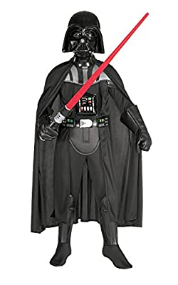 Rubies Star Wars Classic Child's Deluxe Darth Vader Costume and Mask, Large from Rubie's