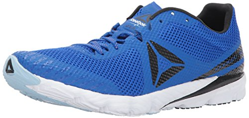 Reebok Men's OSR Harmony Racer Running Shoe, Vital Blue/Black/White/Guava Punch, 6.5 M US