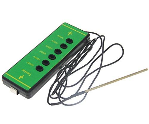 ABS testeur de tension électrique Clôture Clôture Digital 1000V-6000V Mètre courant