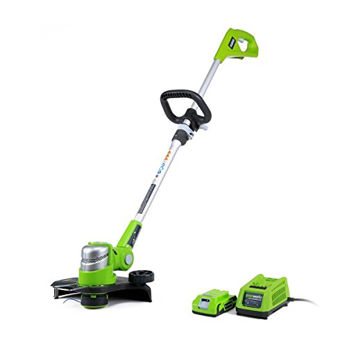Amazing Deal Greenworks 12-Inch 24V Cordless String Trimmer, 2.0 AH Battery Included ST24B210