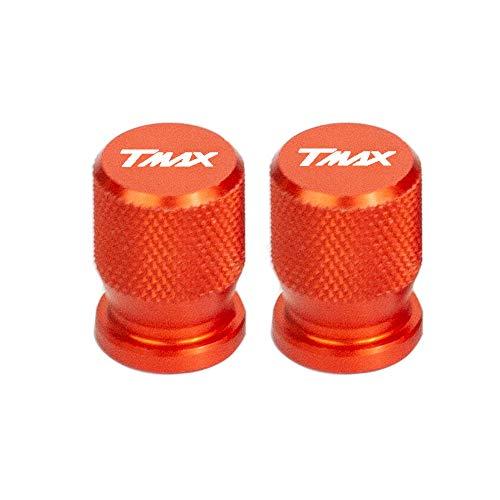 2 Piezas Tapones De VáLvula Moto De VáLvula De NeumáTico Cubierta De Polvo VáLvula De Rueda De Coche Protección para Yamaha T-MAX TMAX 560 T MAX 560 T-Max560 TMAX560