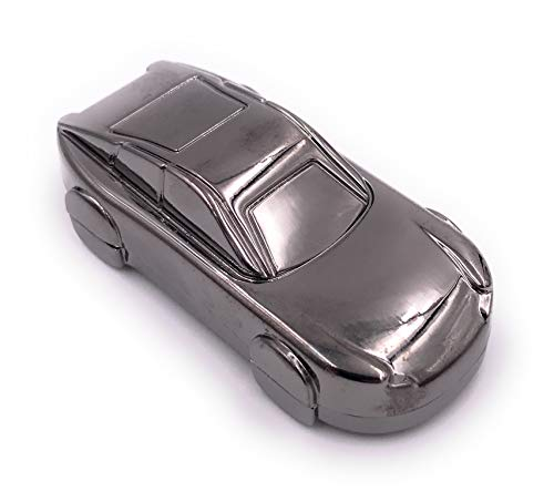 H-Customs Sportwagen Auto Rennauto Silber USB Stick USB 2.0 16GB