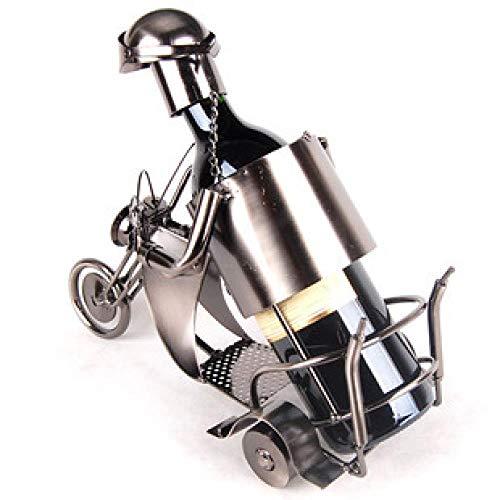 Motorrad Roller Weinregal,Europäische Kreative Weinregal Weinschrank Dekoration Ornamente Ornamente Wohnzimmer Heimtextilien Tv-Schrank Veranda Moderne Handwerk