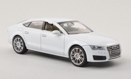 Audi A7 Sportback, met.-Weiss , Modellauto, Fertigmodell, Kyosho 1:43