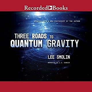Three Roads to Quantum Gravity audiobook cover art