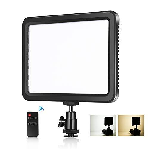PULUZ 116 LED 12W 5600K luce video dimmerabile Studio luce con telecomando per riprese da tavolo/angolo basso, prodotto Ritratto YouTube Video Fotografia