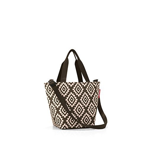 reisenthel shopper XS printed diamonds mocha Maße: 31 x 21 x 16 cm / Volumen: 4 l