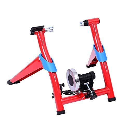 WEI-LUONG plegable Bicicleta plegable Trainer bicicletas de montaña bicicleta de carretera a caballo Fila de control de plataforma de Formación en Internet Aparcamiento Marco Magnetorresistivo de cubi