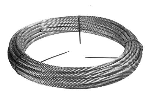 스테인리스 스틸 와이어 로프 - 316-0.0787 인치 | 2MM - 122 피트 | 40 미터 - 와이어 로프
