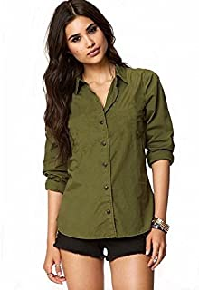 360f58d5706915 Amazon.in: Greens - Shirts / Tops, T-Shirts & Shirts: Clothing ...