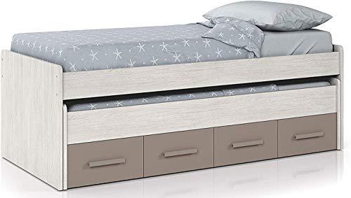 Jugend Schlafzimmermöbel-Set, unisex Bett und Kleiderschrank bedstead,A