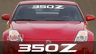 Nissan 350Z Windshield Decals 3