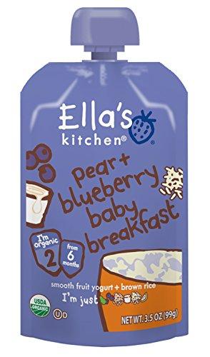 ella' S Kitchen OG2Bluberry Pear Brekkie (12x 3.5oz)