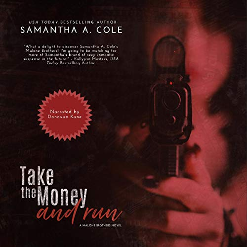 Take the Money and Run audiobook cover art
