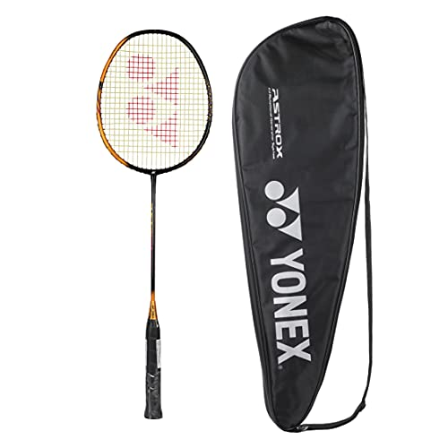 Yonex Astrox Smash Graphite Badminton Racquet with free Full Cover (Ultra Light - 73 grams, 28 lbs Tension) | Rotational Generator System