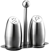Stainless Steel Condiment Tank Salt Pepper Shaker Seasoning Set Bottle Seasoning Kitchen Jar for Kitchen Storage