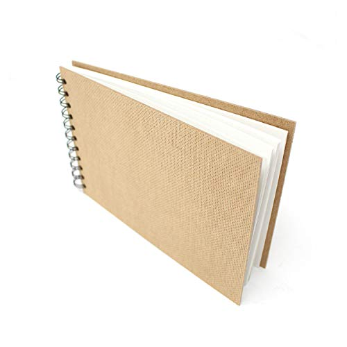 Artway A5 Skizzenbuch, Papier, Weiß, Querformat