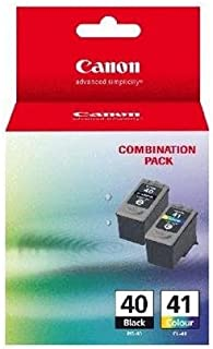 Canon PG40CL41CP Combo Pack (1 x PG40 Black & 1 x CL41 Colour)