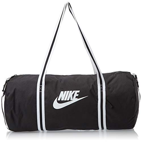 Nike Heritage Borsone Adulto Unisex,Black Or Grey,Unica