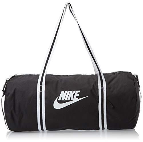 Nike Nk Heritage Duff Gym Bag - Black/(White), MISC