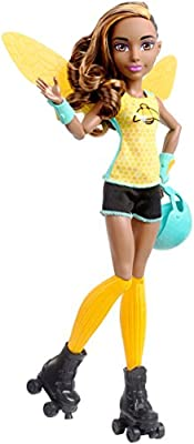 DC Super Hero Girls Bumblebee Roller Derby Doll
