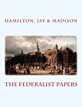 THE FEDERALIST PAPERS, HAMILTON, JAY, MADISON, LARGE 14 Point Font Print