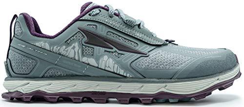 ALTRA Women's ALW1855L Lone Peak 4 Low RSM Waterproof Trail Running Shoe, Light Gray - 6.5 M US