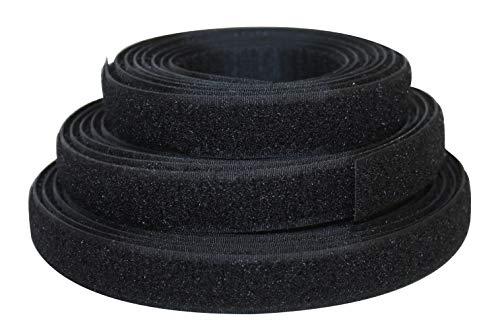 Industrieprofi Cinta de Velcro de Doble Cara con Gancho y flojel, 20...