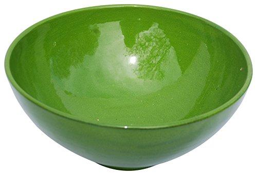 en c/éramique 14/x 14/x 8/cm noir mat//jaune Amazing Cookware Bol en terre cuite