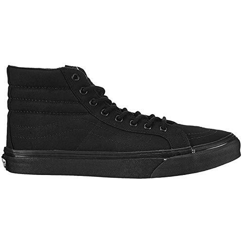 Vans Unisex SK8-HI SLIM Hohe Sneakers, Schwarz (Black/Black BKA), 37 EU