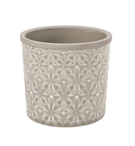 Burgon & Ball - Vaso per piante in ceramica, da interni, misura piccola e grande, motivo Tuscany o Porto