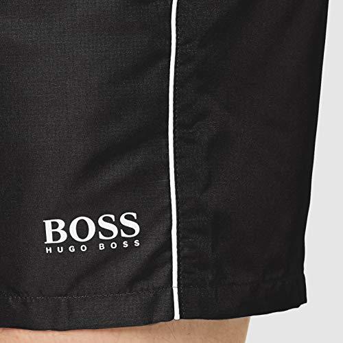 BOSS Starfish Bañador para Hombre, Negro (Black 007), L
