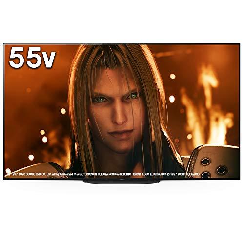ソニー 55V型 有機EL テレビ ブラビア 4Kチューナー内蔵 Android TV機能搭載 Works with Alexa対応 2019年モデル KJ-55A9G